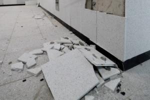 벽 균열에 계단 파손…포항 학교 47곳 지난해 지진 이어 또 수난