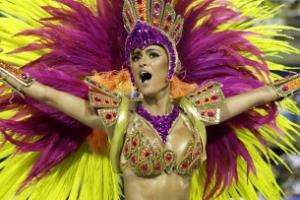 [포토] '화끈하게 흔들어요'… 브라질 삼바 카니발