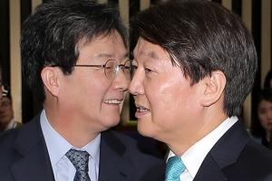 """오늘부터 바른미래당…劉 """"공동대표 맡겠다"""", 安 지방선거 출마 시사"""