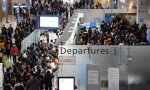 붐비는 인천국제공항