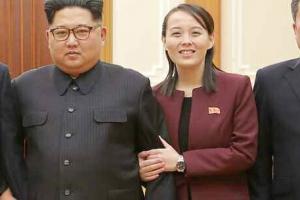 """김정은, 방남결과 보고 받아…""""南, 대표단 편의활동 성의 인상적"""""""