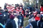 경포대에 소풍온 北응원단…