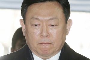 [서울포토] 신동빈 '굳게 다문 입'