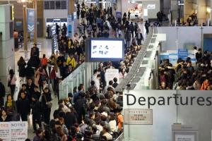 설연휴 인천공항 이용객 하루 평균 19만명…역대 명절 중 최다