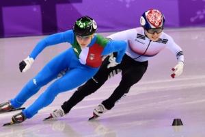 쇼트트랙 女500m 또 분루… 최민정 실격 후 눈물  '펑펑 '