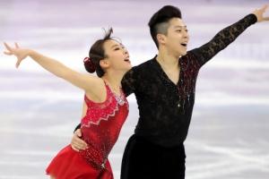 -올림픽- 피겨 김규은-감강찬, 페어 쇼트 42.93점
