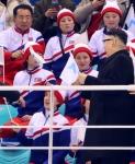 '당혹'… 북한 응원단 …