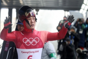 '스켈레톤 아이언맨' 윤성빈, 올림픽 금메달 9부 능선 넘었다.
