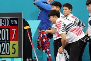 평창올림픽 남자 컬링, 노르웨이와 예선 3차전 패배