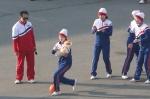 북한 응원단, 명절 맞아 '…