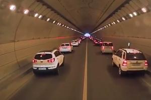 '모세의 기적'은 귀경길 터널에서도…유평터널 사고자 구조