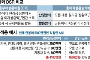 신규대출 때 모든 채무 따진다… DSR 새달 26일 도입