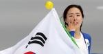 여자 500m 은메달… 아쉬…