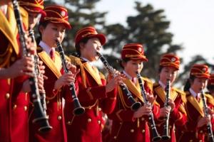 [올림픽] 北응원단 '깜짝 공연' 비공개 연습으로 구슬땀