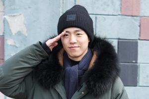 """배우 이현우, 훈련소 입소 현장...""""건강히 다녀와서 좋은 모습 보여드리겠다"""""""