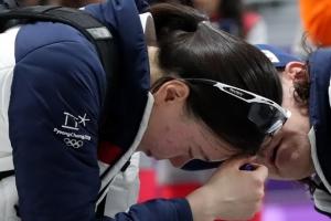 '팀 코리아' 무색한 여자 팀추월…'마지막 올림픽' 노선영의 눈물