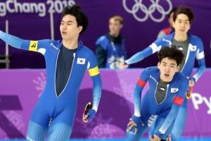 이승훈 3개 대회 연속 메달, 남자 팀추월 은 확보