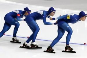 여자 팀추월, 결국 3개 대회 연속 최하위