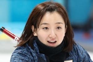 """일본 여자컬링 '청순 얼짱' 후지사와 """"한일전, 의욕 넘쳐"""" 출사표"""