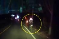 [따뜻영상] 자전거 타고 밤길 달린 경찰관 사연?