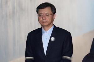 [서울포토] 우병우 전 민정수석, '법정으로 향하는 걸음'