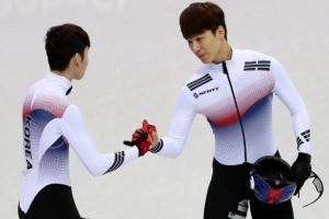 황대헌-임효준은 쇼트트랙 남자 500m 나란히 은메달, 동메달