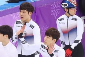 김도겸, 곽윤기 아쉬운 노메달... 다음을 기약