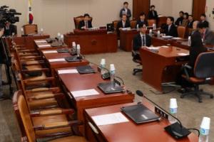 한국당, 법사위 일방 소집 '北김영철 방남' 맹공…민주 불참