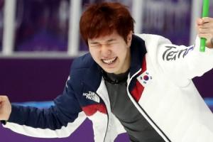 -올림픽- 김태윤, 빙속 남자 1,000m '깜짝 동메달' 쾌거