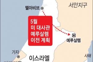 """美 """"5월 예루살렘에 새 대사관 개관"""""""