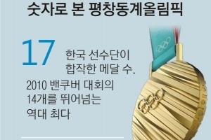 사상 최다 참가국ㆍ선수단… 138만여명 '직관' 열풍