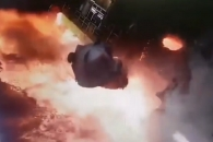 제철소 화로(火爐) 줄 끊어져 지옥처럼 변한 바닥