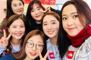 '영미~' 여자컬링팀, LG청소기 이어 의성마늘햄 광고 접수
