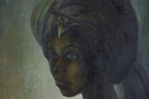 40년 이상 사라졌다가 나타난 '나이지리아 모나리자' 18억원에 경매