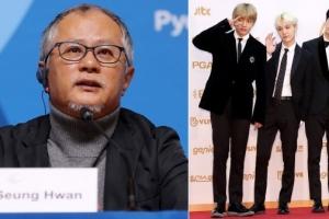 """송승환 평창올림픽 총감독, """"방탄소년단 무대 볼 수 없었던 진짜 이유는.."""""""