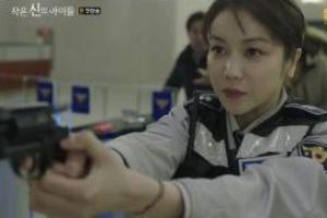 '작은 신의 아이들' 강지환X김옥빈, 첫 회부터 폭풍전개...'神' 장르물