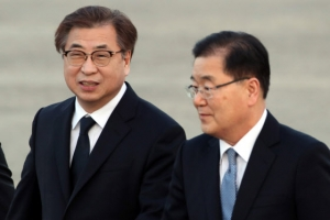 정의용 서훈 방미 일정 시작…NSC보좌관·CIA국장과 회동