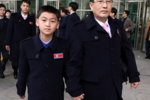 [포토] '참관하러 왔습니다'…평창 패럴림픽 북한 선수단 및 대표단 방남