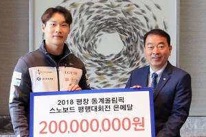 건물주가 꿈이라던 '배추보이' 이상호, 2억원 포상금 챙겼다