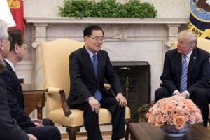 """김정은 """"큰 성과 낼 것"""" 메시지… 트럼프, 즉각 """"만나겠다"""""""