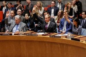 작년 12월 유엔 안보리에서 대북 제재 '만장일치'