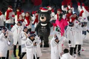 [포토] '반다비, 반가워~' 평창패럴림픽 개막