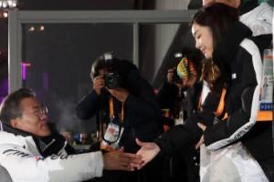 [포토] '연아는 평창동계패럴림픽서도 열일중'