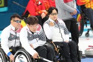 한국 휠체어 컬링팀 역전승 후 '안경선배'에 고마워한 이유