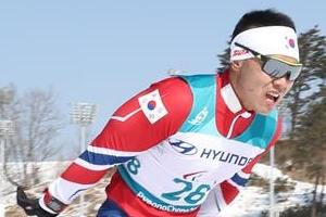 신의현, 크로스컨트리에서 평창패럴림픽 한국 첫 메달 신고