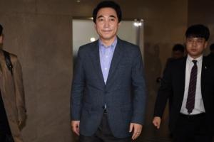 [서울포토] 기자회견 마친 박수현 '담담한 표정'