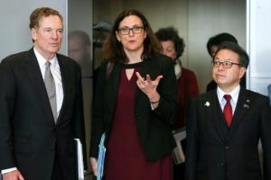 美·EU·日 통상장관회의