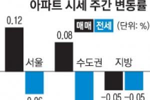 서울 아파트값 7주 연속 상승세 주춤