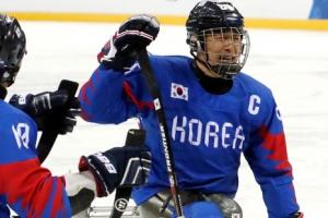 -패럴림픽- 한국 아이스하키, 체코 꺾고 2연승…4강행 예약