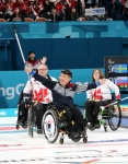 휠체어컬링 대표팀, 캐나다…